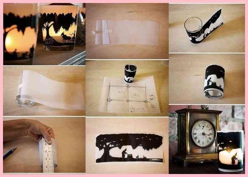 DIY: Velador artesanal