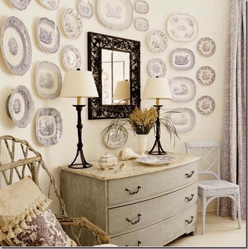 decorar la pared con cerámica