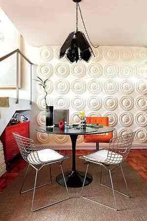decorar paredes con relieve