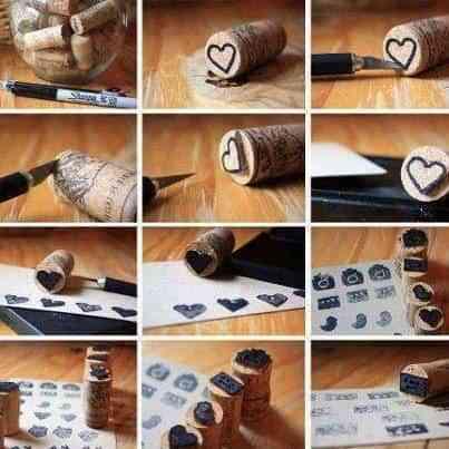 DIY: Tu propio sello de corcho
