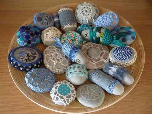 Decorar con piedras for Piedras pequenas para decorar