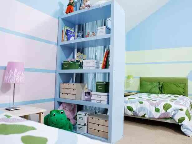 Construye una biblioteca en tu dormitorio