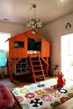 Decoración dormitorio infantil muy original