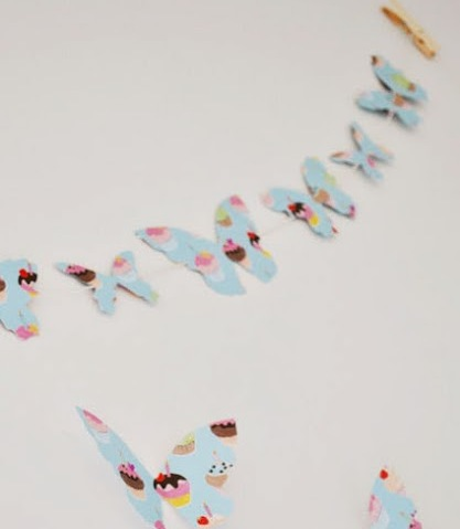 Decorar paredes con mariposas de papel imagui - Decorar paredes con papel ...