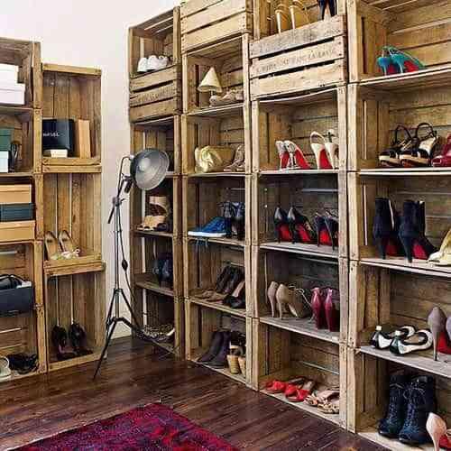 closet con palets