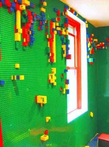 decorar con lego