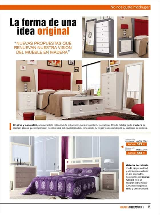 Cat logo dormitorios 2013 merkamuebles decoraci n de interiores opendeco - Merkamueble catalogo ...