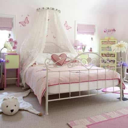decorar dormitorio rosa