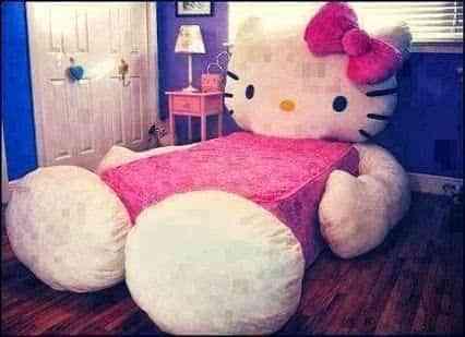 Decoraci n infantil dormitorio hello kitty decoraci n de - Decoracion hello kitty ...