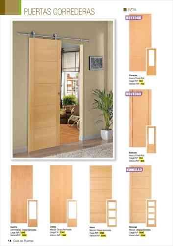 Puertas correderas con guia exterior excellent puerta for Puerta corrediza externa