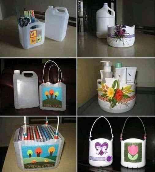 Reciclar pl sticos para el hogar decoraci n de for Reciclar cosas para decorar