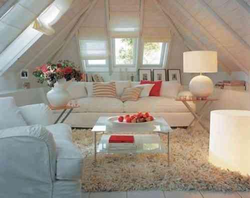 decoracao de interiores sotaos: un salón en una buhardilla – Decoración de Interiores