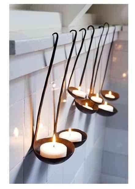 cucharones velas
