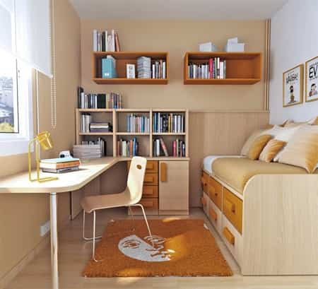 15 ideas para decorar habitaciones juveniles peque as - Como decorar habitaciones juveniles ...