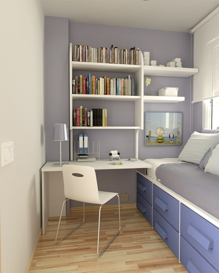 15 Ideas Para Decorar Habitaciones Juveniles Pequenas