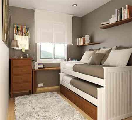 15 Ideas Para Decorar Habitaciones Juveniles Pequenas - Decoracion-de-habitacion-juvenil