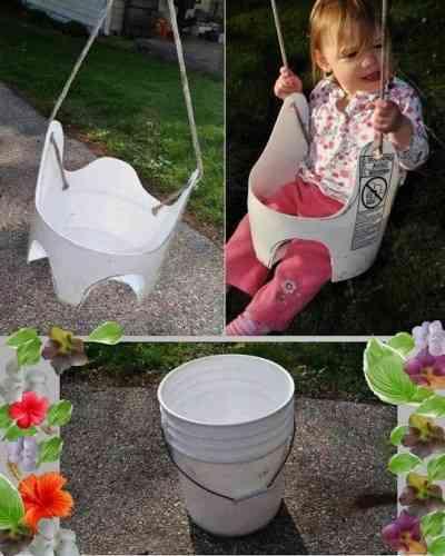 Diy Decoracion Bebe ~ DIY un columpio reciclado para el beb?  Decoraci?n de Interiores
