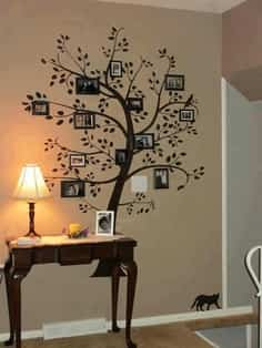 Como Decorar Un Arbol Genealogico.Decorar Pared Con Arbol Genealogico Decoracion De