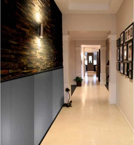 Decorar paredes con frisos de aluminio decoraci n de interiores opendeco - Decorar con friso ...