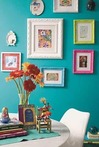 decoracion con cuadros