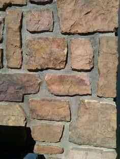 Decorar paredes con piedras