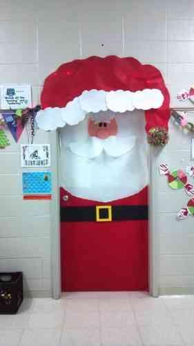 Decoraci n navide a de la puerta blog totpint portal - Decoracion navidena para negocios ...