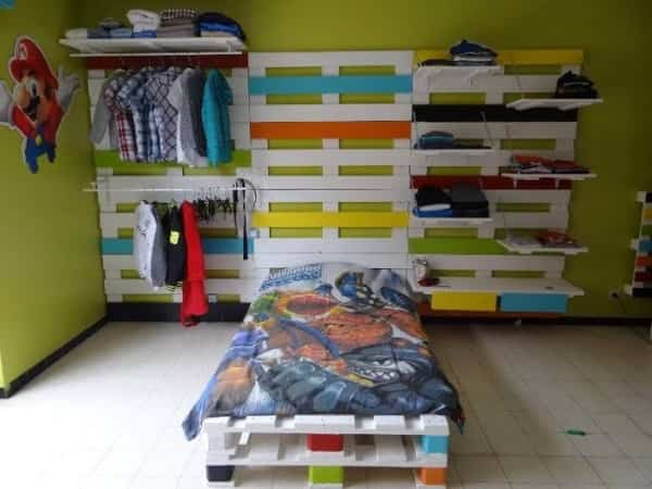 Decorar dormitorio con palets - Decoración de Interiores | Opendeco
