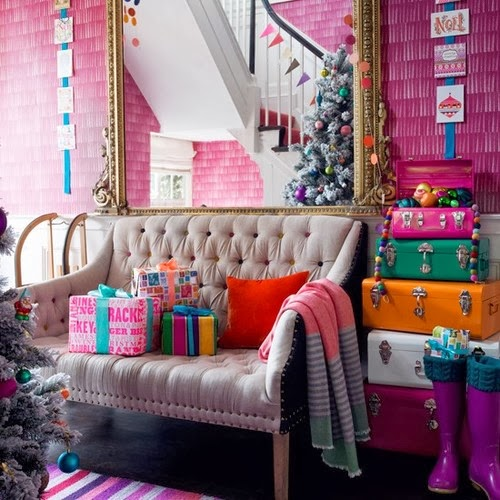 Decorar un sal n con mucho color blog totpint portal - Colores para la pared del salon ...