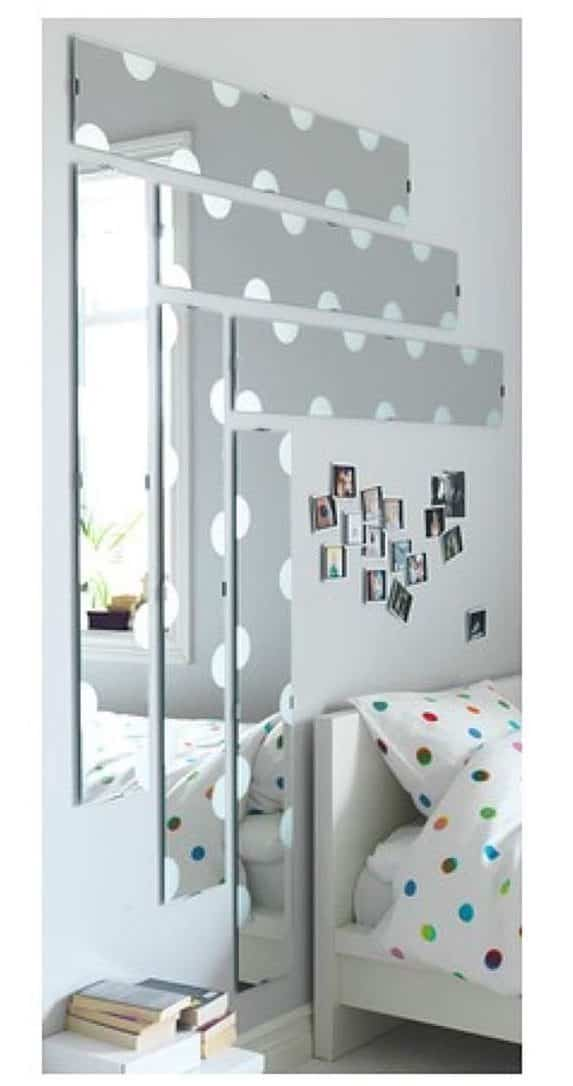Espejos infantiles de ikea para la habitaci n de los m s for Espejo tocador ikea