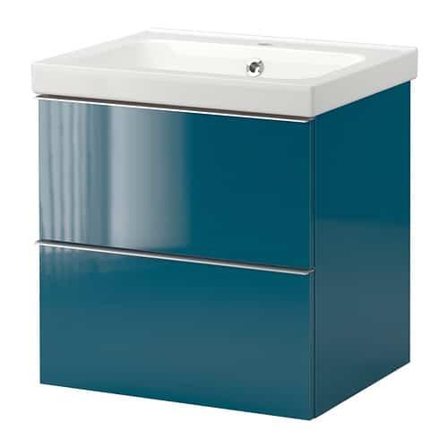 Adesivo Moveis Mdf ~ Armario lavabo Ikea marca Godmorgon Odensvik Decoración de Interiores Opendeco