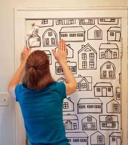 decorar puerta