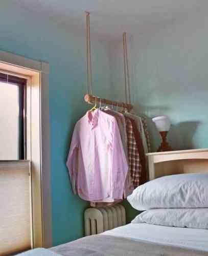 organizar camisas en dormitorio peque o blog totpint. Black Bedroom Furniture Sets. Home Design Ideas