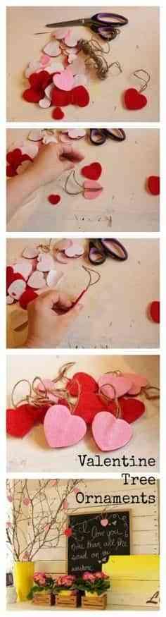 decoración san valentin
