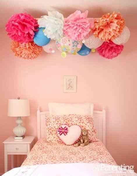 decorar con pompones