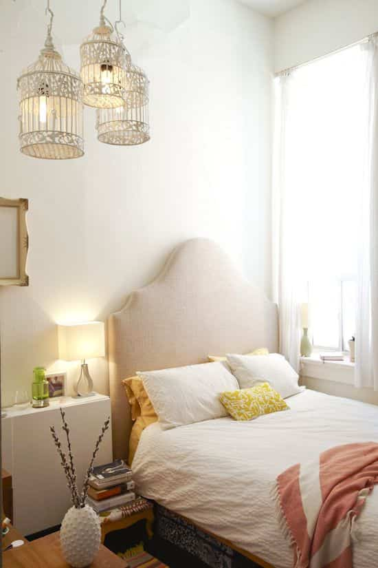 decorar dormitorio blanco