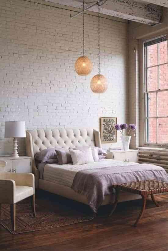 decoración dormitorio neutro
