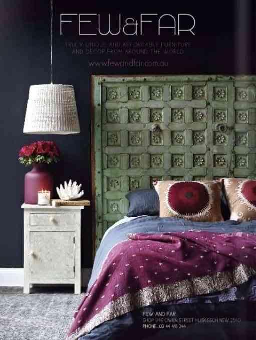 decorar dormitorio con pared negra