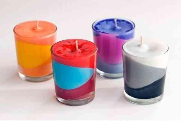 Hacer Velas Coloridas Con Crayones De Cera Decoracion De - Hacer-velas