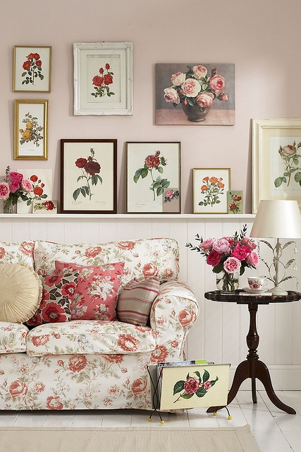 Decoraci n con inspiraci n floral decoraci n de for Decoracion reciclaje interiores