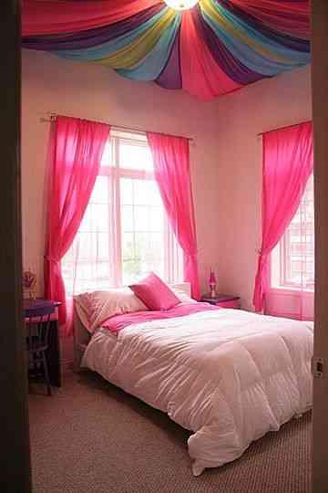 Decora el dormitorio con un techo de colores - Decoración de ...