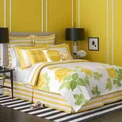 decorar con color amarillo