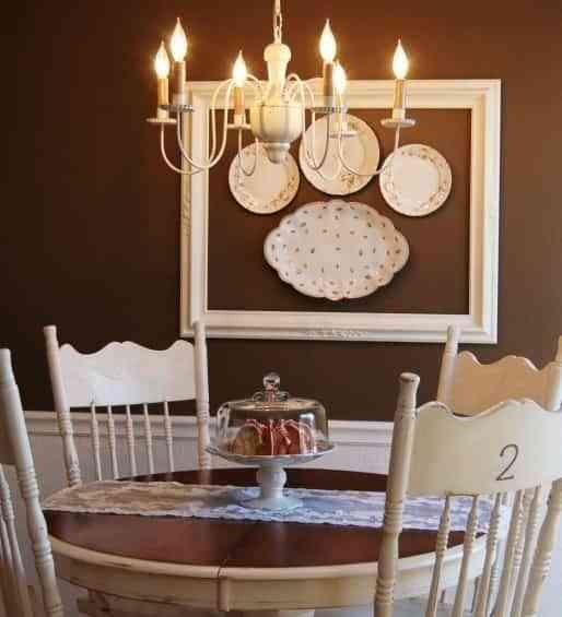 Decorar una pared con marco y platos - BLOG TOTPINT | Portal de ...