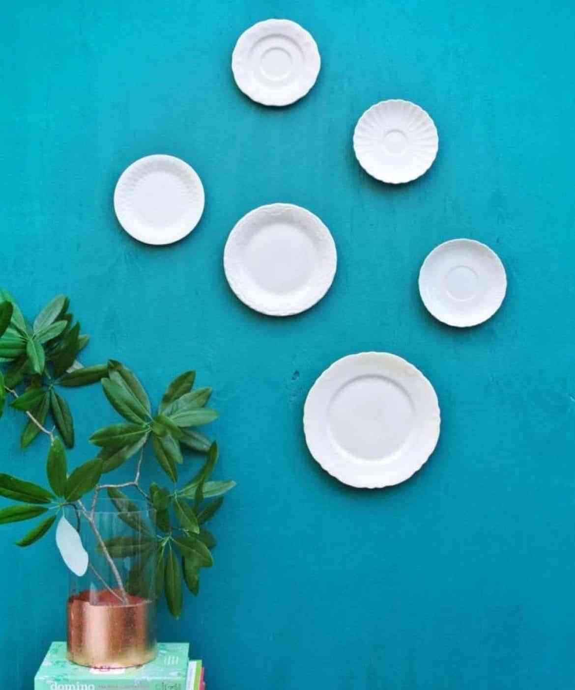 8 ideas para decorar con platos ¡desde la cocina hasta el jardín! 1
