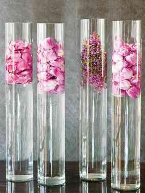 Llegan las flores por primavera blog totpint portal de - Como decorar jarrones de vidrio ...