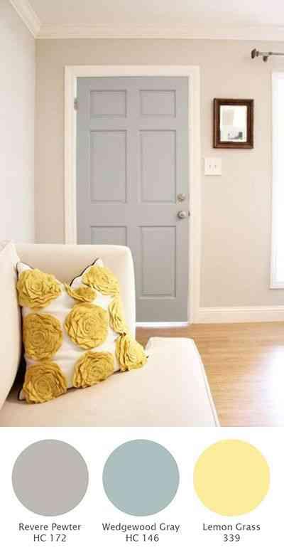 13333d9ee87 Colores para decorar un salón en tono pastel - Decoración de ...