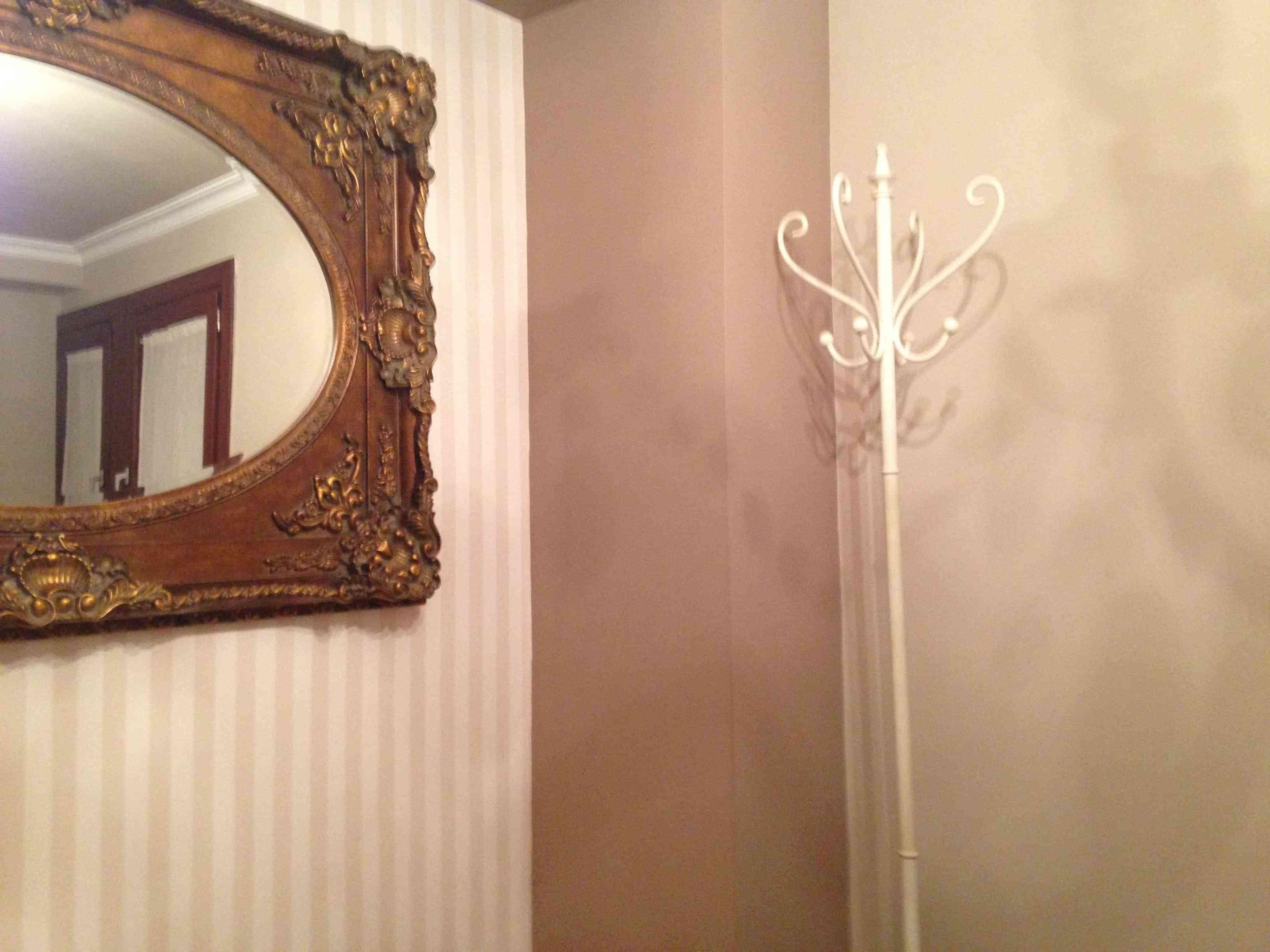 decoracion paredes - beis - rayas verticales