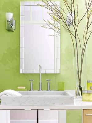 decorar con color verde