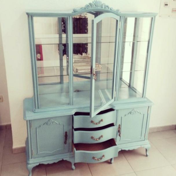 Incre bles muebles restaurados decoraci n de interiores - Muebles antiguos restaurados ...