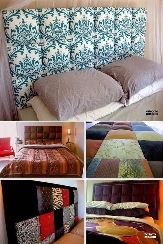Diy cabecero de tela para tu cama decoraci n de for Aplicacion para decorar interiores