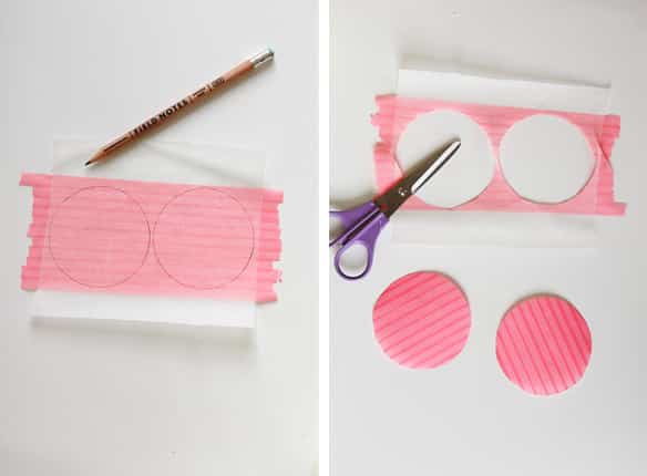 lunares de washi tape